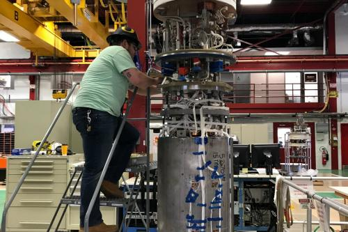 Fermilab achieves 14.5-tesla field for accelerator magnet, setting new world record